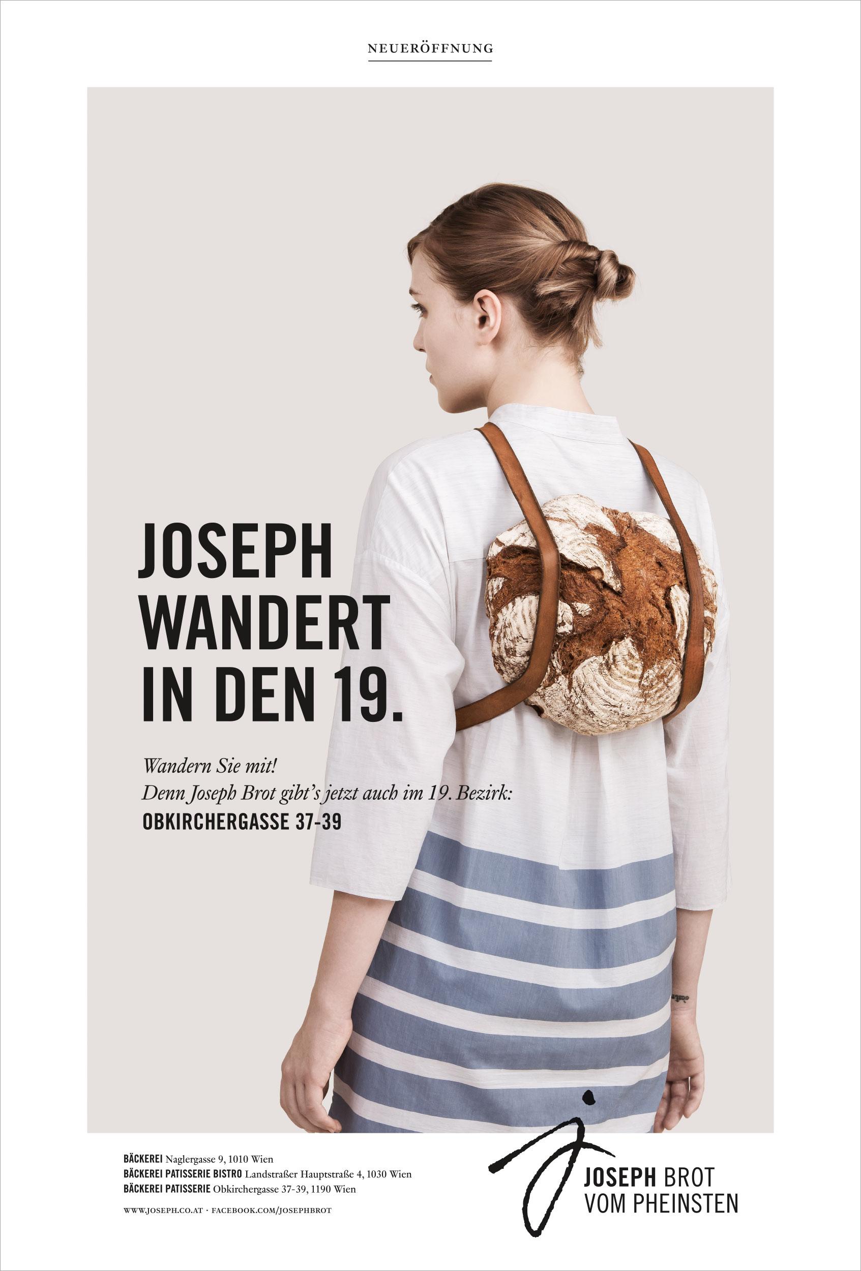 Blaupapier Bildretusche Litho JosephBrot Frau Wandert Citylight