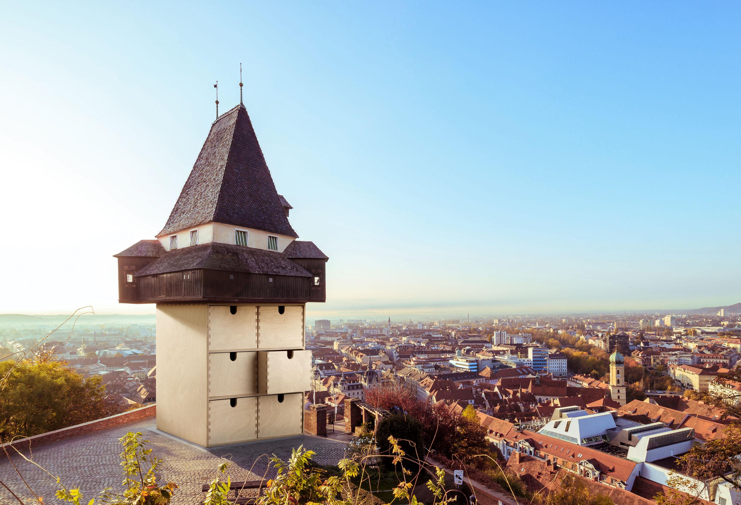 Blaupapier Bildretusche Ikea Graz Uhrturm