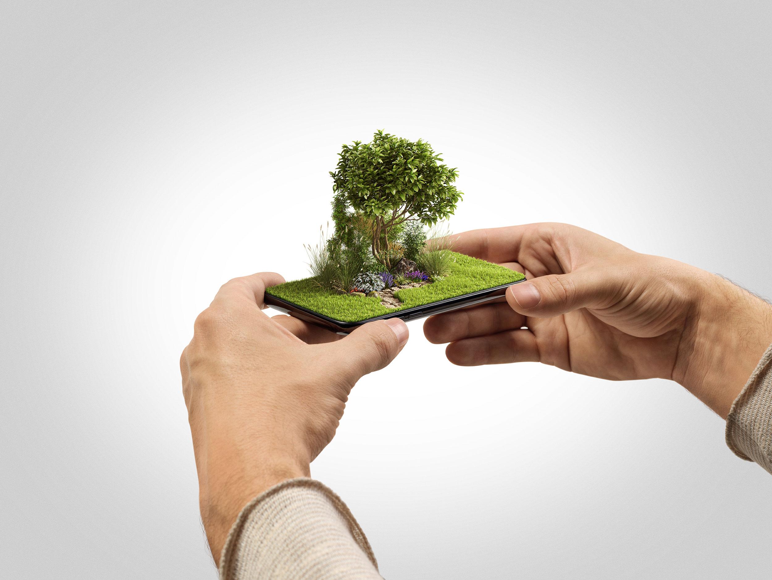 Blaupapier Cgi Fotografie Retusche Gardena Smart Visual 1