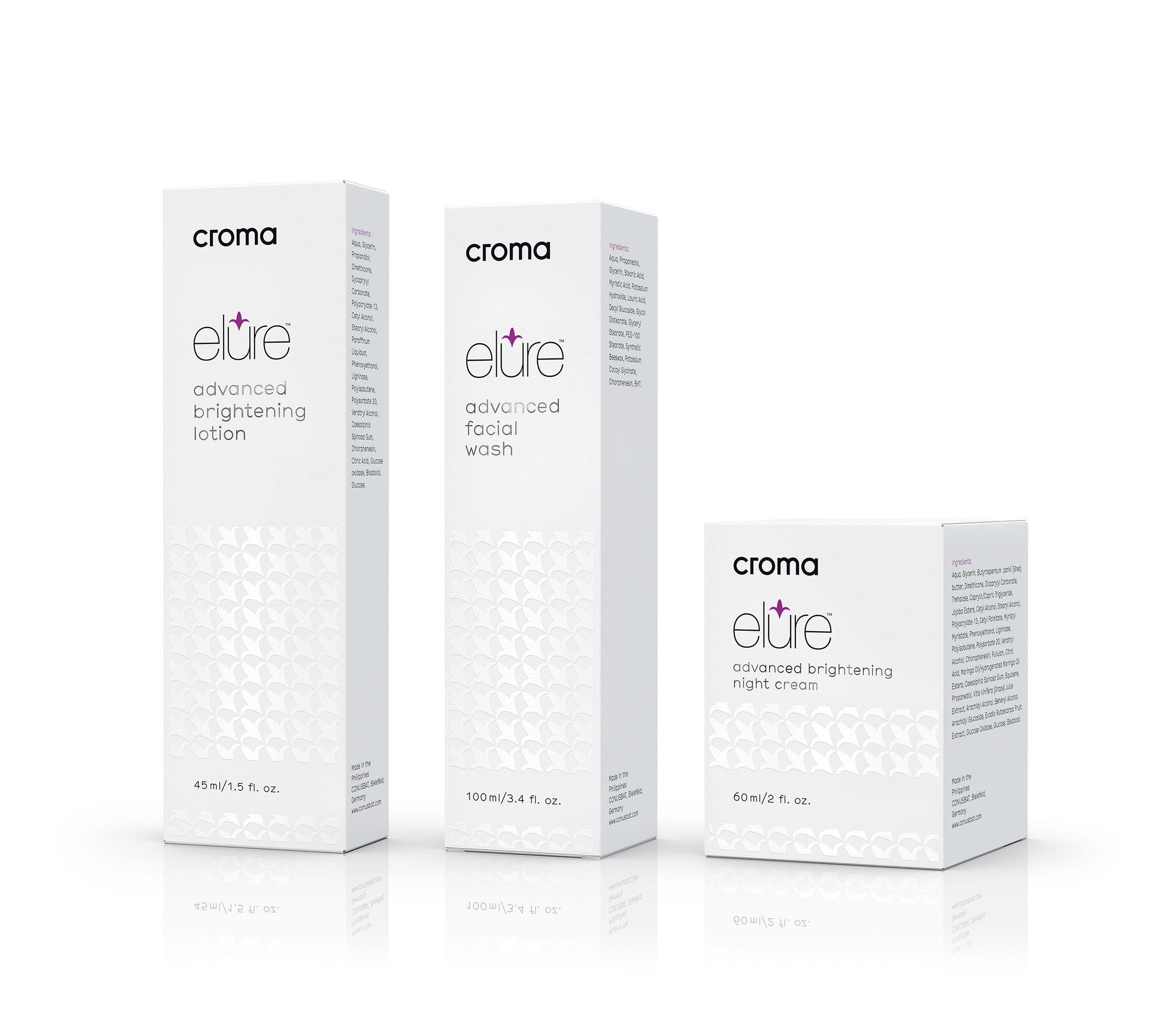 Blaupapier Cgi Yps Elure Product Range Package