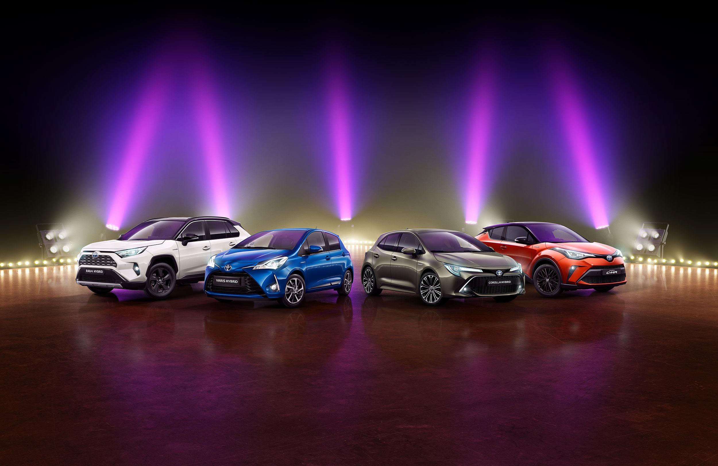 Blaupapier Retusche Cgi Toyota Testival Range
